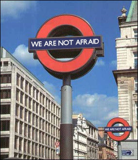 We are not afraid!